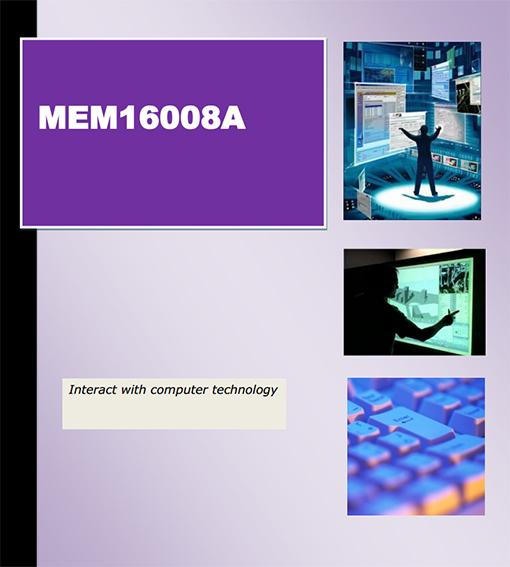 MEM16008A